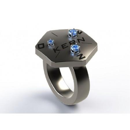 Anneau d'étalonnage pour le testeur de diamant et le testeur de moissanite
