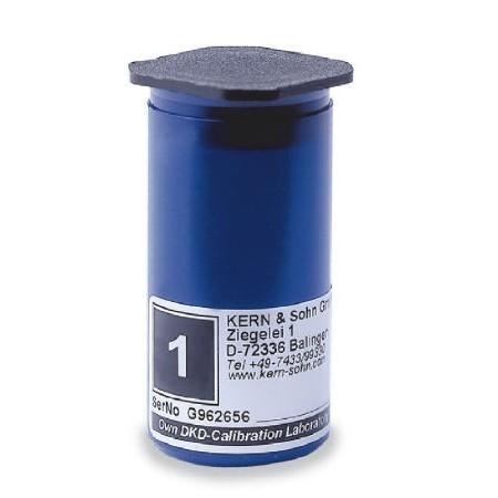 Étui en plastique pour poids individuel E2 1-2g