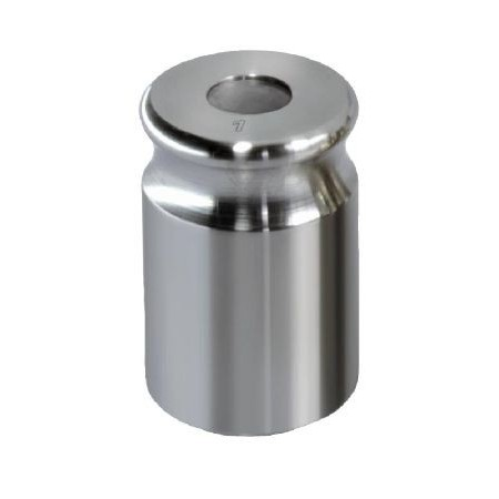 NON-OIML F1 (329) Single weight - compact shape, finely turned stainless steel
