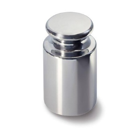 OIML E1 (307) Single weight - knob shape, polished stainless steel
