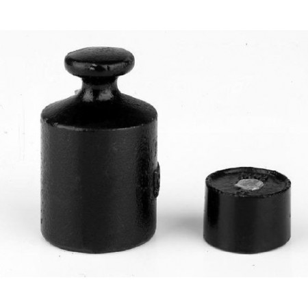 OIML M3 (366-9) Single weight - cylindrical, cast iron, lacquered