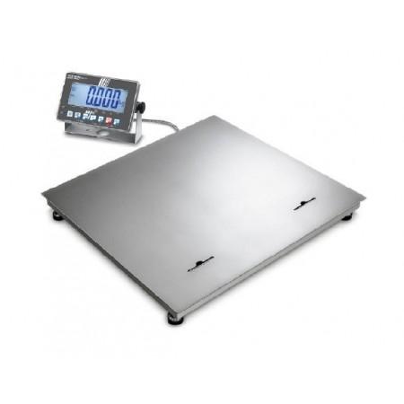 Balance d'industrie inox Max 1500 kg- E 0.5 kg- D 0.5 kg