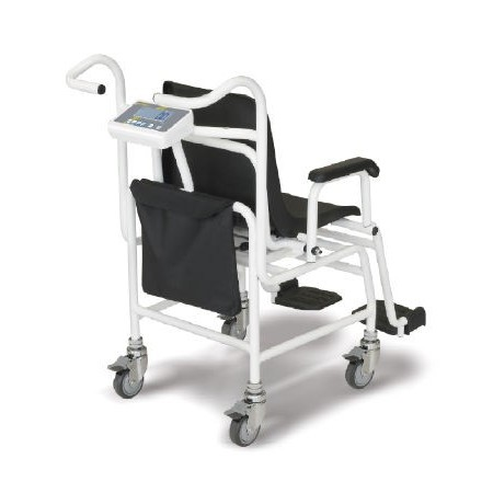 Practical mains adapter pouch on the back of the chair as well as mains adapter (external)  - MCC-A01
