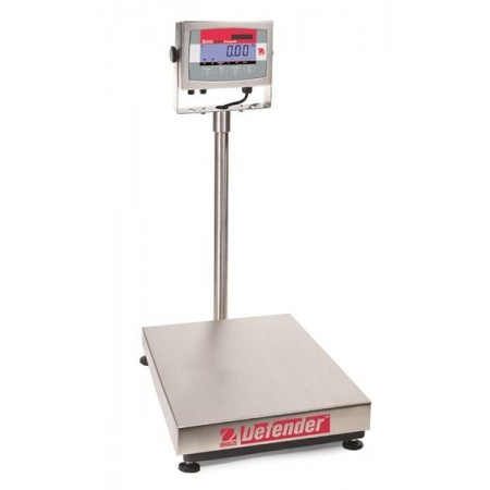 Economical Counting Stainless Steel Bench Scales OHAUS DEFENDER 3000 SS