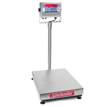 Economical Counting Stainless Steel Bench Scales OHAUS DEFENDER 3000 Hybrid