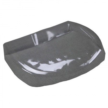 Protective plastic shell for ø 120mm tray