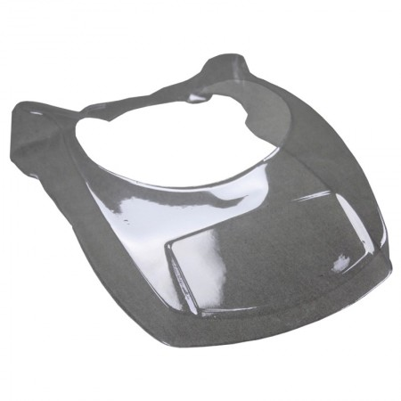Protective plastic shell for ø 90mm tray