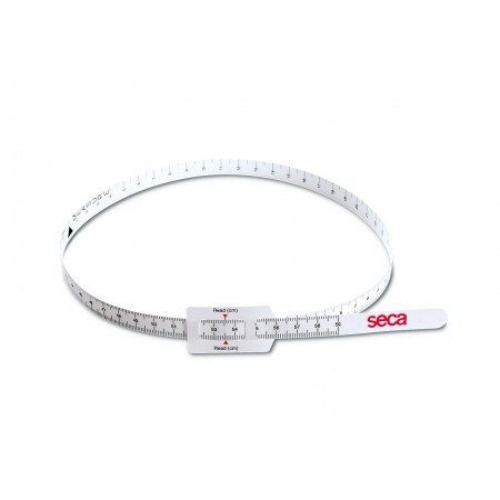 Tape measuring head circumference of infants and young children - SECA 212
