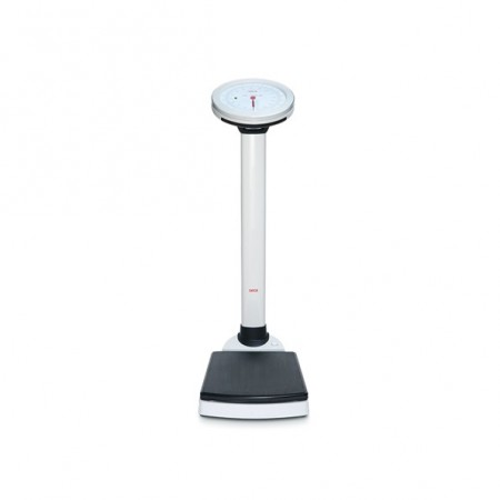 Mechanical column scale with BMI display and calculation, Class IIII medically approved SECA 756