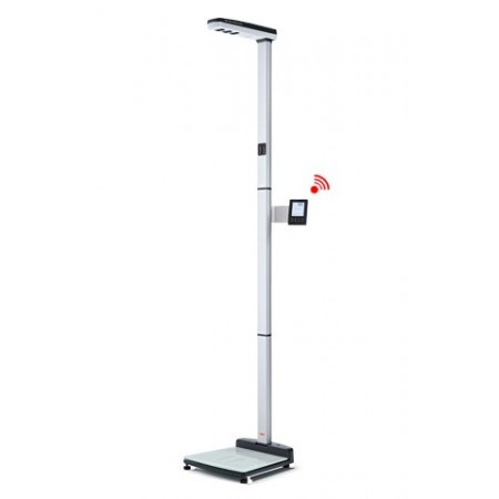 EMR ready ultrasonic measuring station for height and weight, Class III medically approved SECA 287