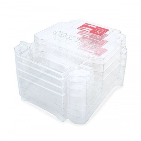 Housse anti-poussières, Empilable Kit (6 pcs), NV