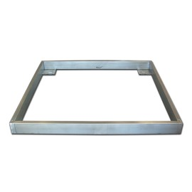 Couvelage pour encastrer inoxydable 1200x1200 mm