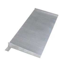 Deuxième rampe inox 1500x1500 mm