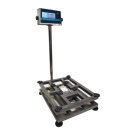 Platform in stainless steel (30kg-300kg) BAXTRAN TOPGh