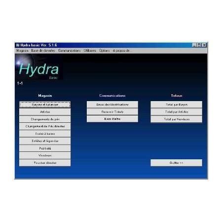 Logiciel EXA HYDRA+