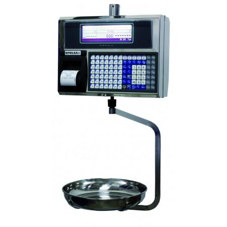 Balance poids-prix suspendue avec imprimante thermique EXA EUROSCALE 22V14