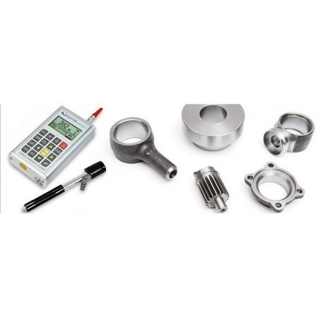 Hardness testing of metals (Leeb)